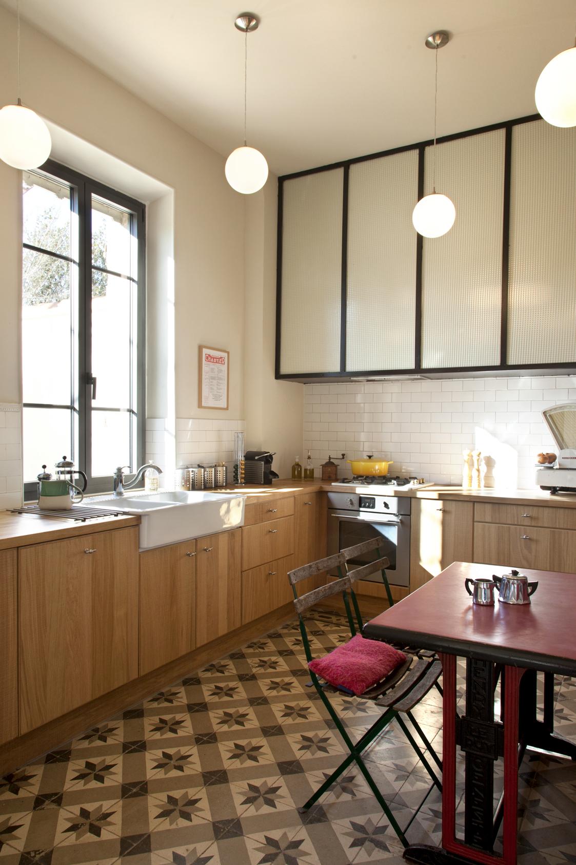 Claire plouzennec chamboisse r novation d 39 une cuisine for Deco cuisine 1900